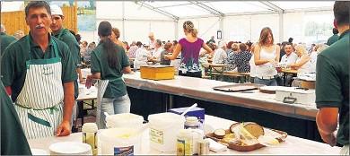 Eine reiche Auswahl verschiedener Speisen, vor allem aber Fischgerichte, gibt es beim Fest des Angelsportvereins.