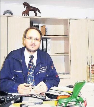 Der 38-jährige Ortsvorsteher Alexander Naber hat Freude am Mitgestalten.