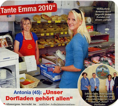 """Antonia (45): """"Unser Dorfladen gehört allen"""""""