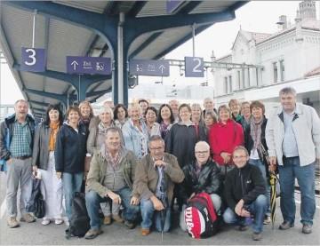 Die ehemaligen Schüler aus Rheinmünster und Leiberstung brechen zu einer gemeinsamen Reise an den Bodensee auf.